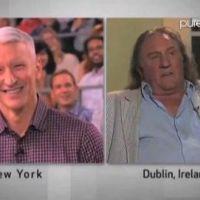 Gérard Depardieu et son pipi dans l'avion: ''Je ne suis pas un terroriste, je veux uriner'' (VIDEO)