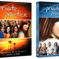 Private Practice saisons 1 et 2 en DVD ... 2 vidéos inédites