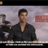 Taylor Lautner en interview pour Identité Secrète ... une exclu Purefans News (VIDEO)