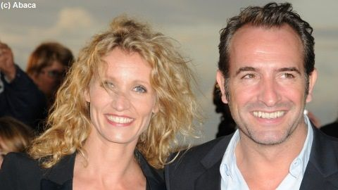 The artist in love d alexandra lamy purebreak for Jean dujardin fille