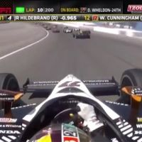 Indy Car : un pilote (Dan Wheldon) se tue en pleine course (VIDEO)