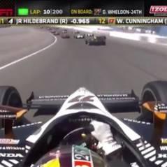 Indy Car : un pilote (Dan Wheldon) se tue en pleine course (VIDEO)