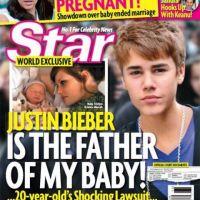 Justin Bieber papa : son ''fils'' fait déjà la Une de Star (PHOTO)