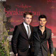 Taylor Lautner et Robert Pattinson : les deux beaux-gosses de Twilight 4 en promo à Berlin (PHOTOS)