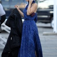 90210 saison 4 : Annalynne McCord très classe sur le tournage (PHOTOS)