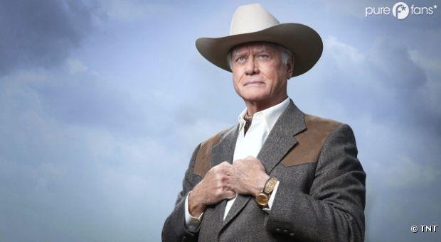 Larry Hagman dans le remake de Dallas