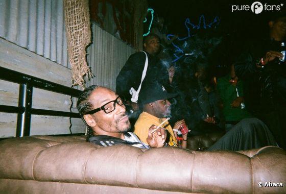 Snoop Dogg en soirée avec des potes