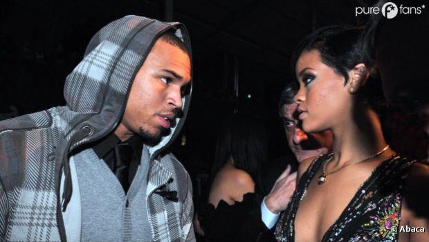 Chris Brown et Rihanna en 2008