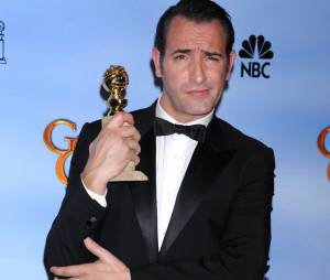 """Jean Dujardin et son prix de """"meilleur acteur de comédie"""" aux Golden Globes 2012"""