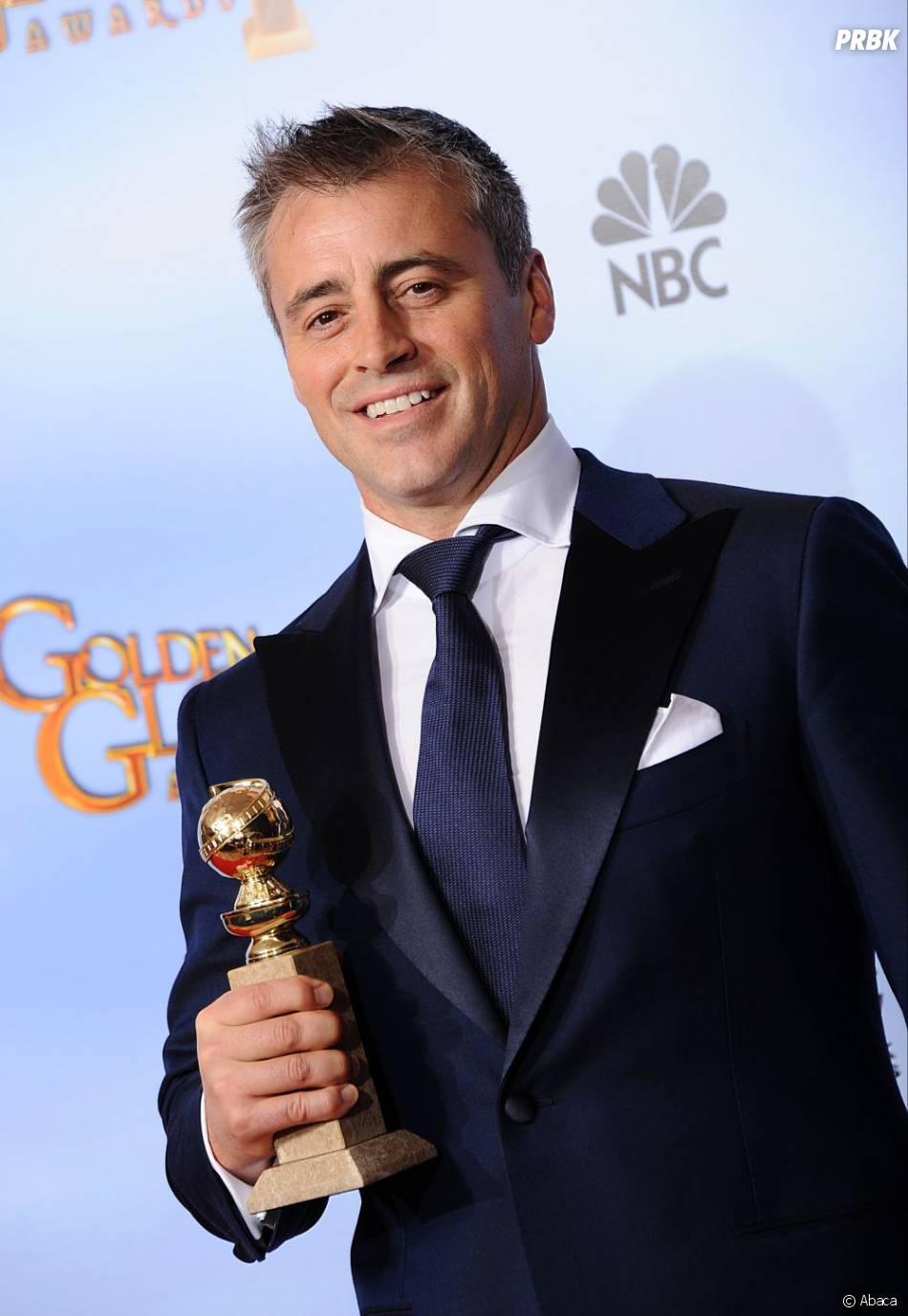 Matt LeBlanc meilleur acteur comique aux Golden Globes 2012