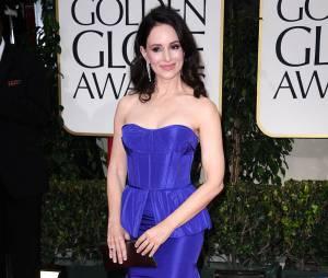 Madeleine Stowe aux Golden Globes 2012