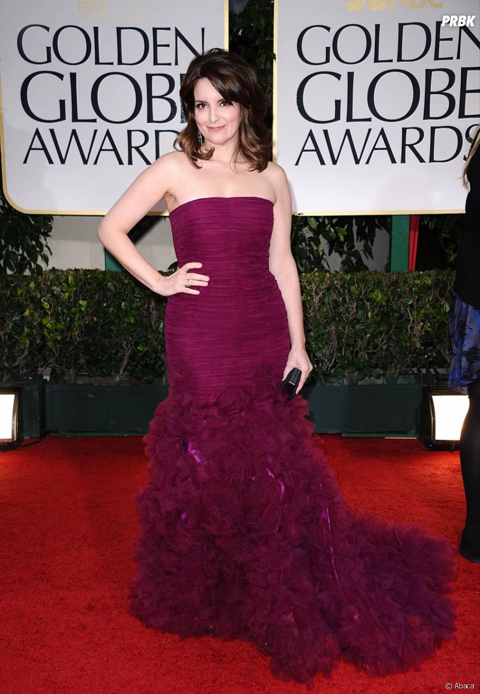 Tina Fey aux Golden Globes 2012