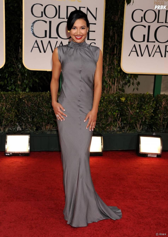 Naya Rivera aux Golden Globes 2012