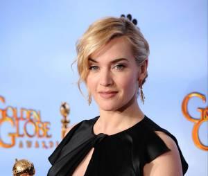 Kate Winslet aux Golden Globes 2012