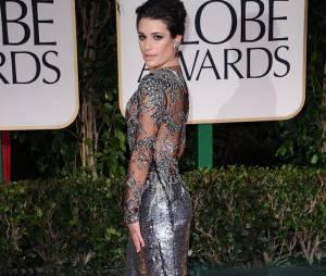Lea Michele aux Golden Globes 2012
