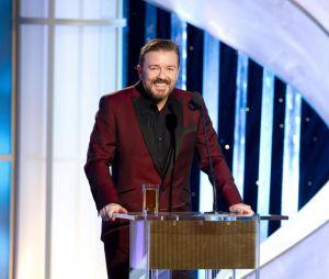 Ricky Gervais présentait les Golden Globes 2012