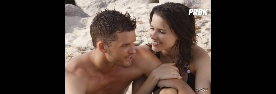 Julian et Brooke sur la plage