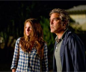 Shailene Woodley et George Clooney dans The Descendants