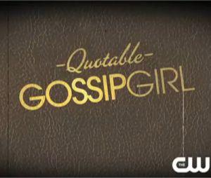 Les meilleurs phrases de Gossip Girl