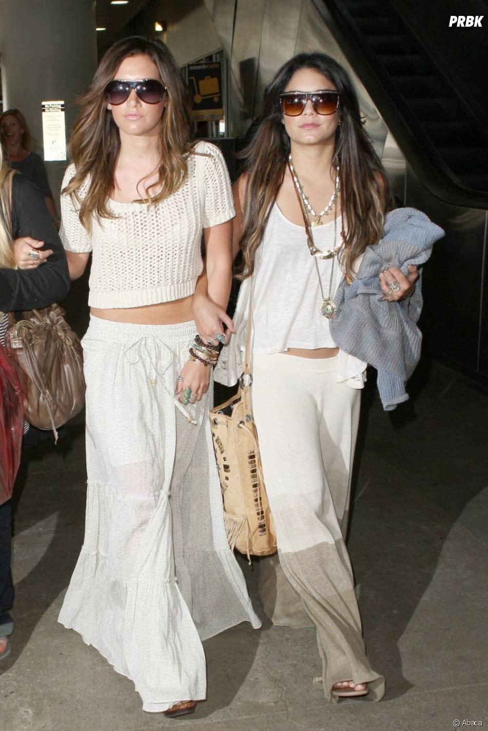Vanessa Hudgens et Ashley Tisdale en mode hippie...