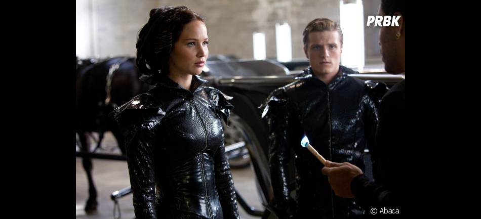 Katniss et Peeta prêts à mettre le feu