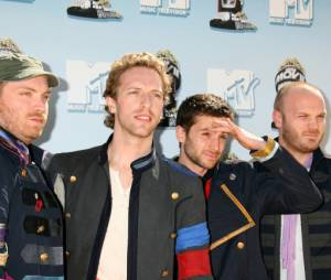 Coldplay aux MTV Television Music Awards