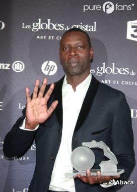 Omar Sy récompensé aux Globes de Cristal 2012