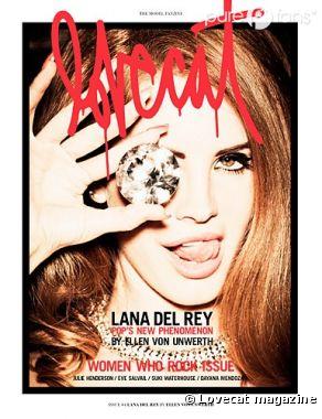 Lana del Rey pour le nouveau numéro de Lovecat