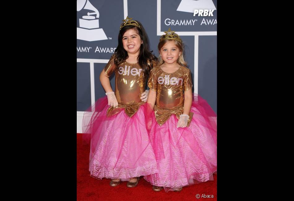 Sophia Grace et Rosie posent déjà comme des stars !