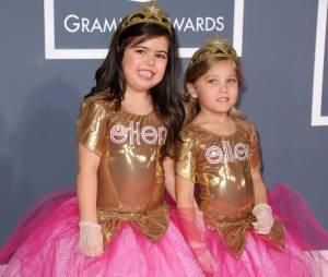 Sophia Grace et Rosie sur le tapis rouge des Grammy Awards 212