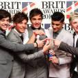 Les One Direction, qui ont remporté l'Award de la meilleure chanson de l'année