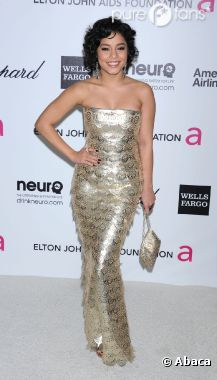 Vanessa Hudgens superbe à la soirée Elton John