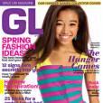 Amandla Stenberg en une de Girls Life Magazine