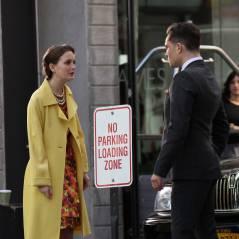 Gossip Girl saison 5 : Chuck et Blair réunis sur le tournage (PHOTOS)