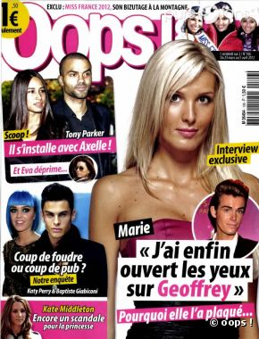 L'interview de Marie dans Oops.