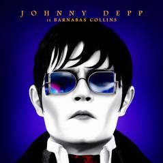 Dark Shadows : Johnny Depp vampire pâlichon sur une affiche colorée ! (PHOTOS)
