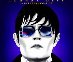 Un poster coloré mais un Johnny Depp blafard pour Dark Shadows