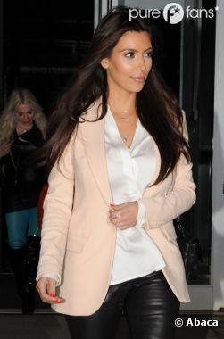 Kim Kardashian est allée faire du shopping avec Kanye West à New York