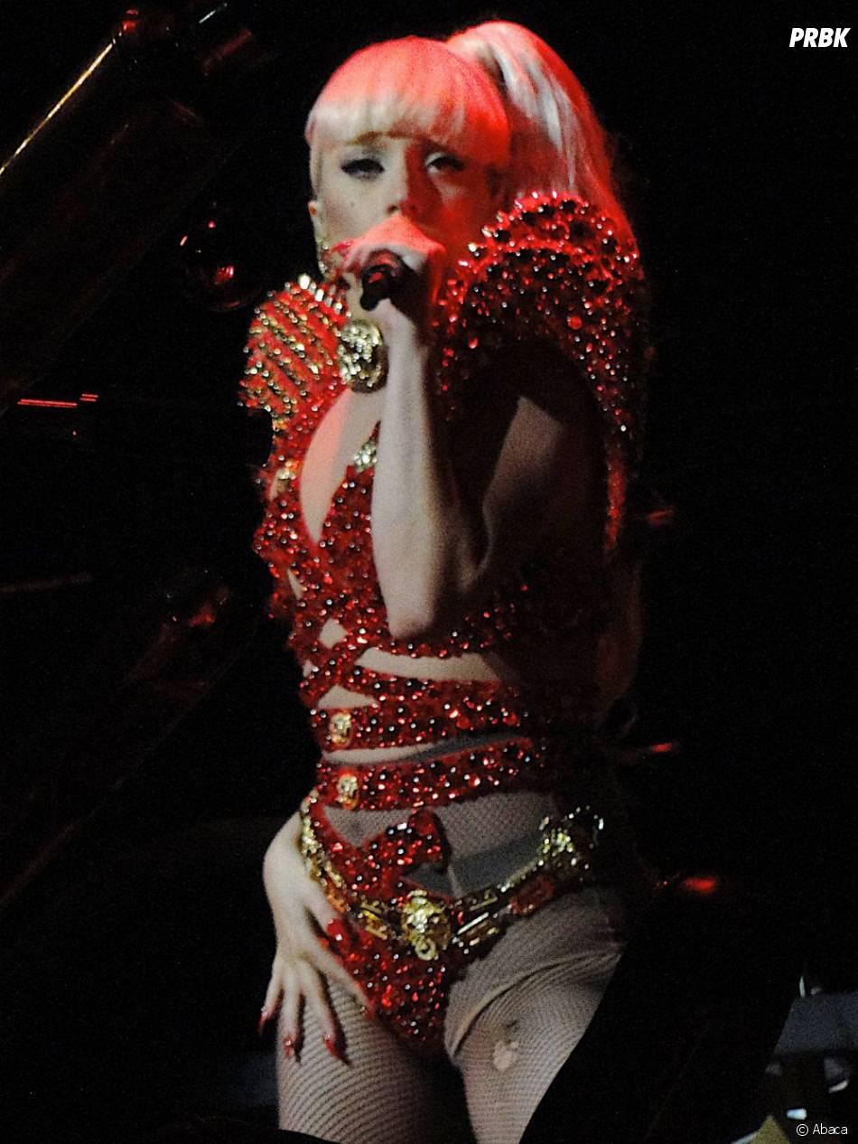 Lady Gaga reine de la scène