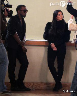 Kim Kardashian et Kanye West n'ont pas peur des caméras