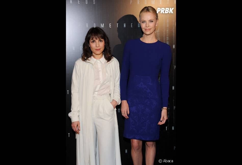 Charlize Theron et Noomi Rapace