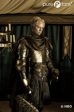Gwendoline Christie dans le rôle de Brienne