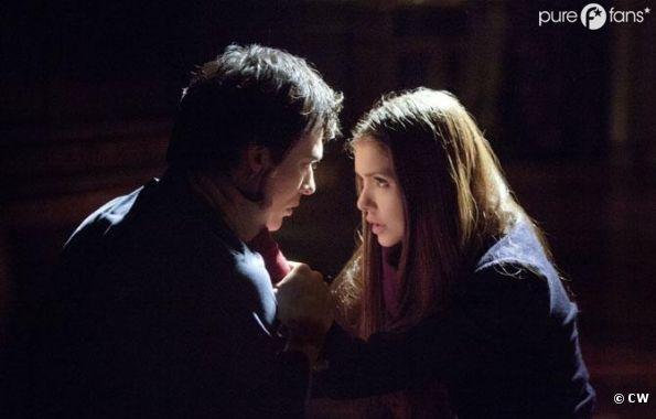 Damon et Elena quittent Mystic Falls