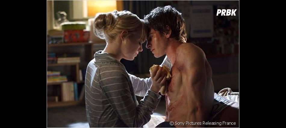 Andrew Garfield et Emma Stone se sont rapprochés sur le tournage du film