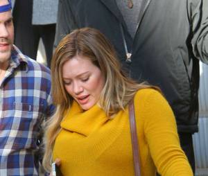 Hilary Duff et son marie Mike Comrie