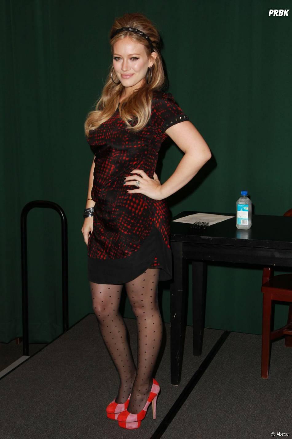 Hilary Duff avant son bébé, ressemblait à une bombe