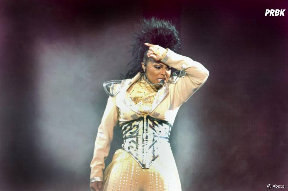 Janet Jackson sur scène