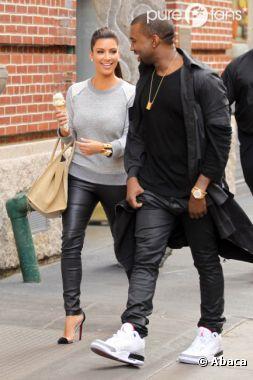 Kim Kardashian et Kanye West, bientôt papa et maman ?