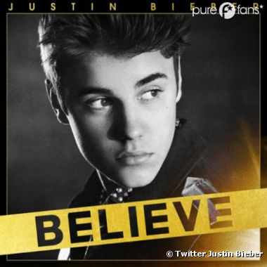 Justin Bieber dévoile la pochette de Believe version simple