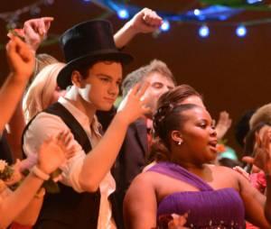 Les stars de Glee profitent de la fête